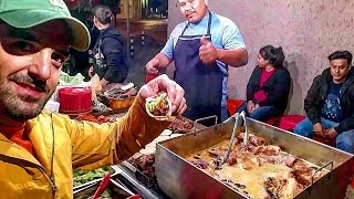 STREET FOOD In MEXICO – Incredible Deep Fried TACOS – GREASY And DELICIOUS Mexican Street Food!!