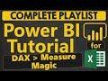 Power BI Tutorial for Beginners: DAX. Measure Magic & Composite Measures (1.4.4)
