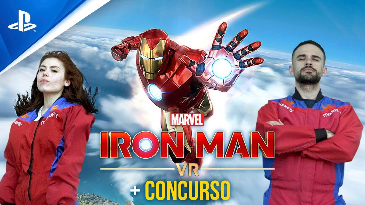 LMDSHOW y ALBA VUELAN como en Marvel's Iron Man VR + CONCURSO | PlayStation España