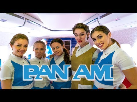 Time Travel to Golden Age of Airlines | The Pan Am Experience in Los Angeles CA