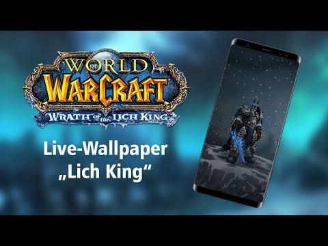 Wow Mobile Livewallpaper Arthas Lichking Download Link
