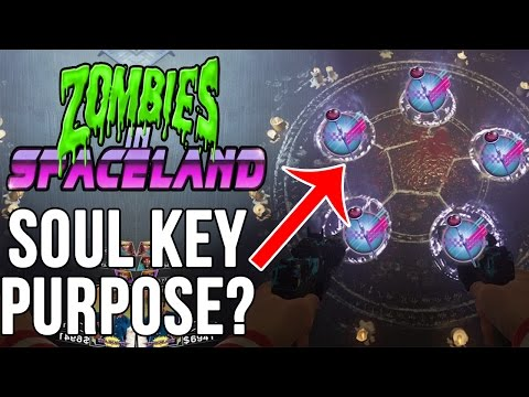 Infinite Warfare Zombies Soul Key and Circle Pattern Theory | Rave in the Redwood Soul Key Theory