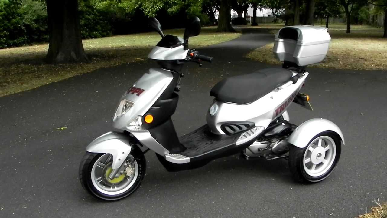 Used PGO Nippi Trippi 50 cc Tricycle Scooter Croydon fo ...