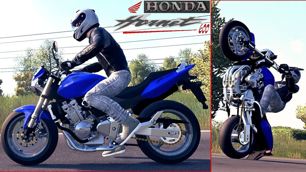 ride 2 honda cb 600 f hornet 2006 tr s tendance youtube. Black Bedroom Furniture Sets. Home Design Ideas