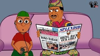 African Dad And Olamide Song (Splendid Cartoon)