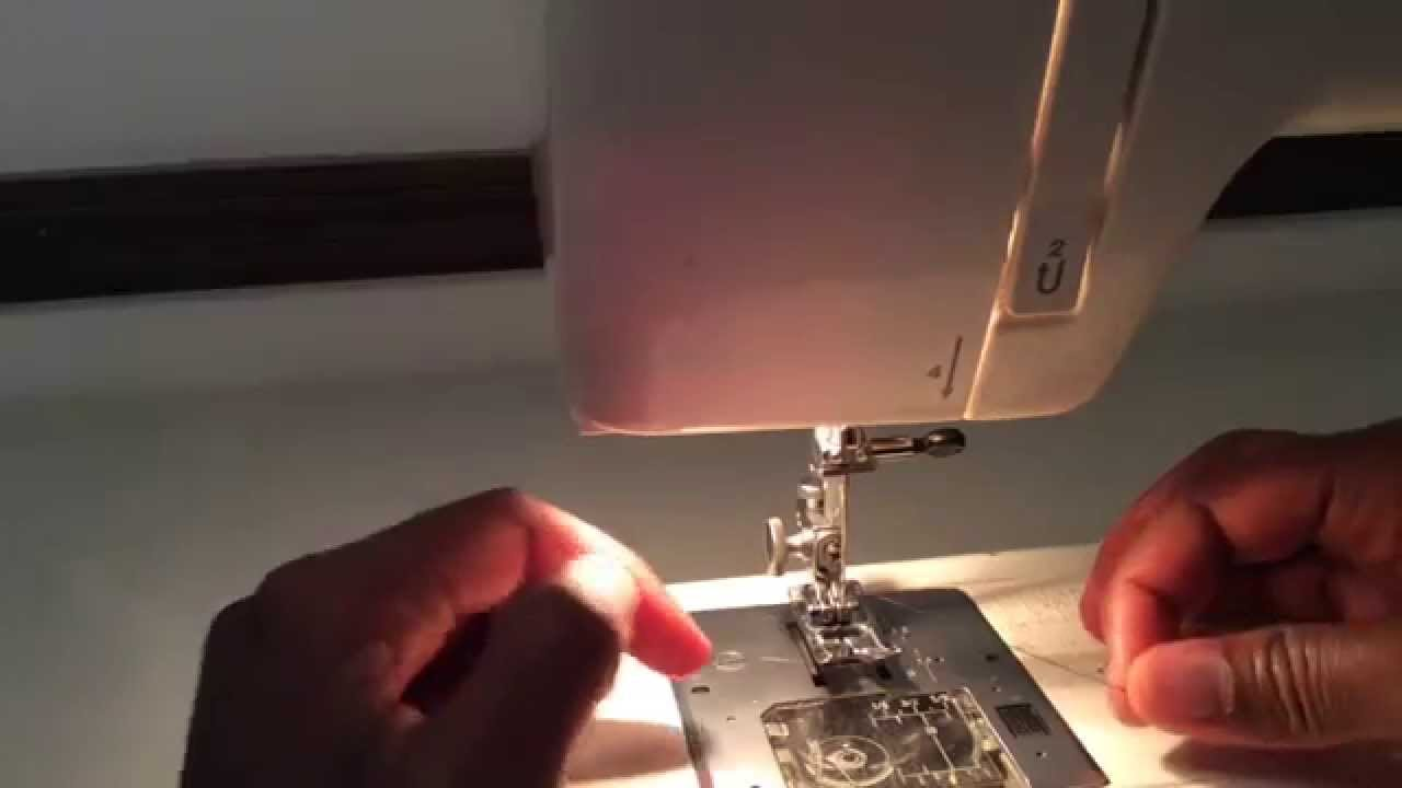 Part 3 Inserting The Top Thread Tutorial On Kenmore 385 Series Sewing Machine Diagram Youtube