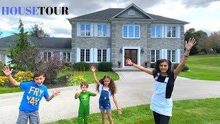 HZHtube  Kids Fun House Tour!!!