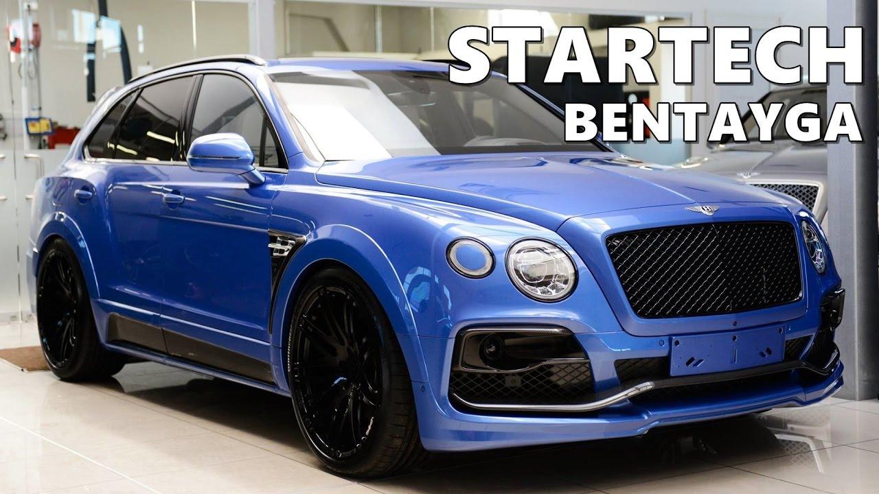 Startech Bentley Bentayga Body Kit Youtube