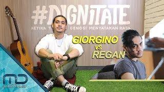 MD Interview - Giorgino Abraham sebagai Regan