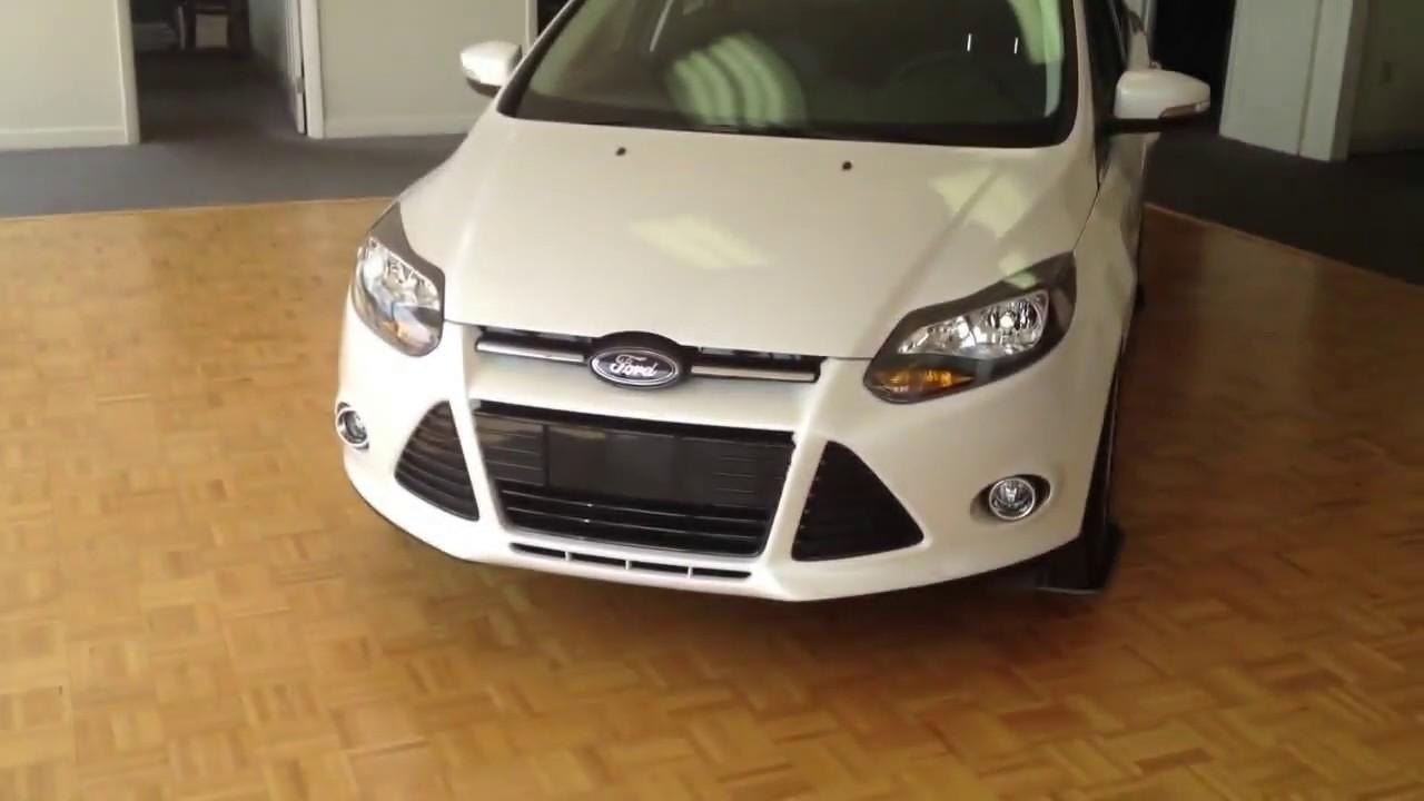 2013 ford focus titanium white platinum - Ford Focus 2013 Sedan White