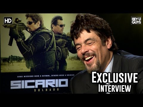 Benicio Del Toro roasts Interviewer over Dress Sense - Sicario 2: Solado