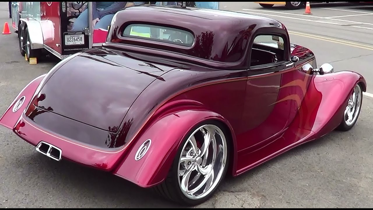1933 Ford Coupe Street Rod - YouTube