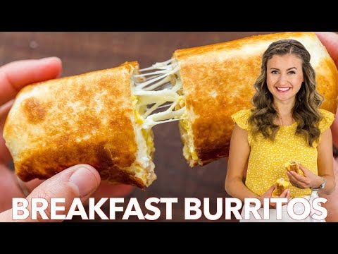 How To Make Breakfast Burritos | Freezer Friendly Meal Prep