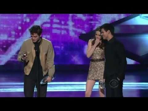HD Robert Pattinson,Kristen Stewart and Taylor Lautner People's Choice Awards 2011