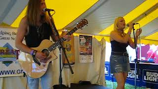 170819 Sena Ehrhardt & Cole Allen Duo at Big Bull Falls Blues Fest