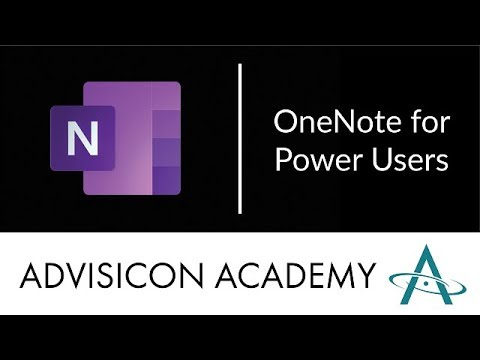 OneNote for Power Users | Webinar Wednesday