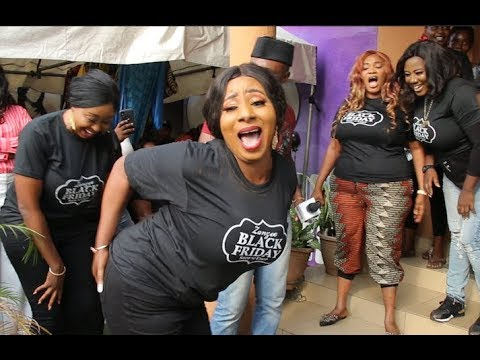 Mide Martins, Iyabo Ojo, Jaiye Kuti, Owner of Zanzee boutique came out to dance one by one