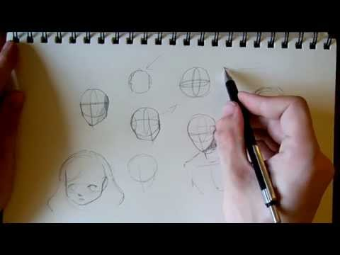 видео: Простая конструкция головы.