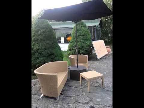 arredamenti per giardino l 39 ombrellone youtube