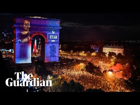 Macron dabbing and crowds roaring: France crowned World Cup champions
