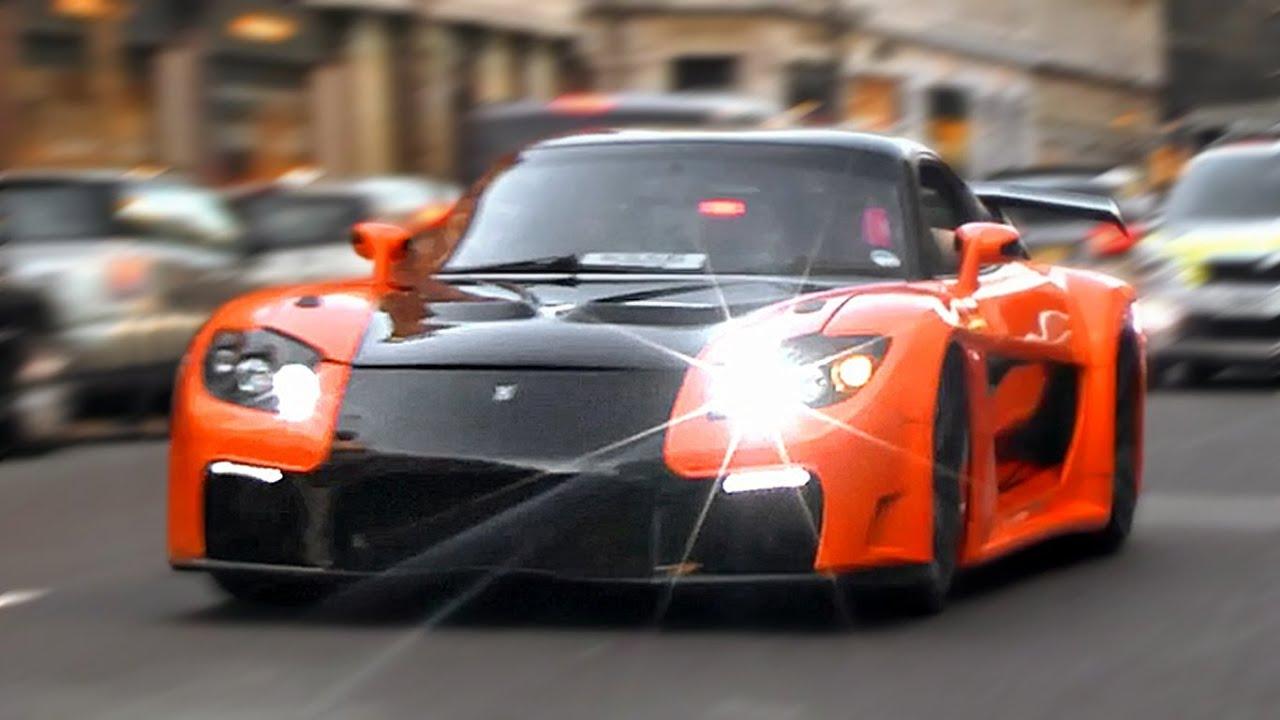Drift Car Wallpaper Hd Mazda Rx 7 Veilside Fortune In London Youtube