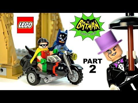 LEGO® Batman™ Batcave Entrance Batcopter & Batcycle Classic TV Series 76052 Part 2 DC Super Heroes