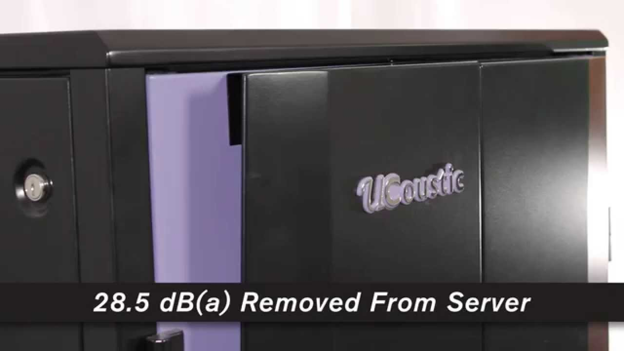 rackmount solutions ucoustic server rack overview