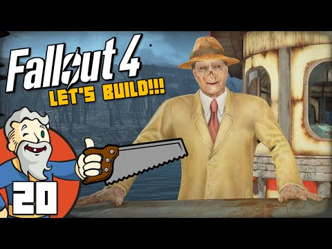 """LEVEL 4 MERCHANT?!?"" Fallout 4 LET'S BUILD Part 20 - 1080p HD PC Gameplay Walkthrough"