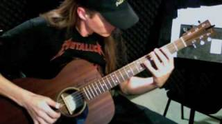 Ashes In The Sea (Take 2) - Bryan Rason - Antoine Dufour - Solo Acoustic Guitar