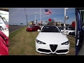 2017 Alfa Romeo Giulia 2.0L turbo full test drive
