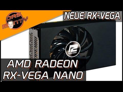 AMD RADEON RX VEGA NANO - Neue Grafikkarte von AMD/Powercolor | DasMonty - Deutsch