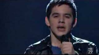 "David Archuleta ""Imagine""-AI Season 7"