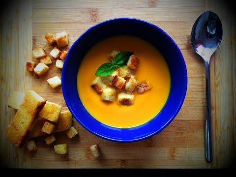 СУП. Очень ВКУСНЫЙ и согревающий ТЫКВЕННЫЙ крем-суп без регистрации и смс