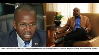 serge arereka evode ko yibeshya agira ngo arabeshya kagame