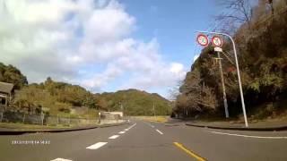 ドライブレコーダー10倍速×国道202号全線長崎から佐世保20151219