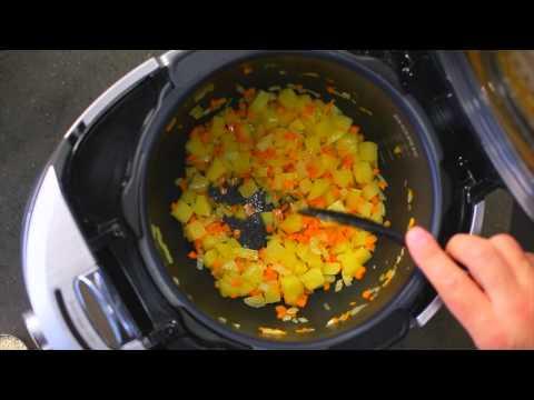 Рецепт горохового супа с копченостями в мультишефе BORK U800 от Алексея Зенина