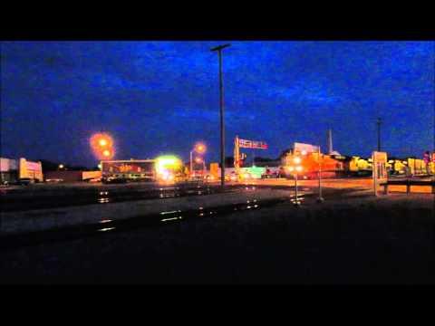 Trains in Newton, Ks & Wichita, Ks (In HD)