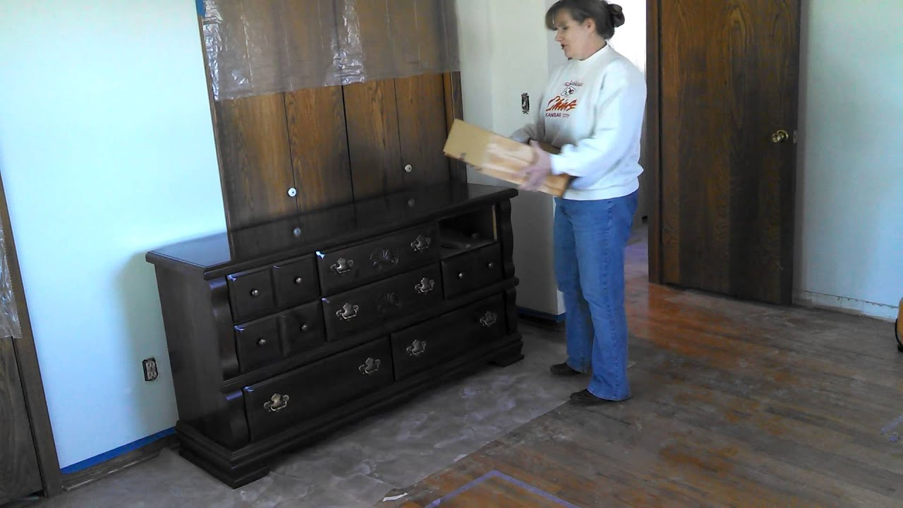 How To Remove Dresser Drawers