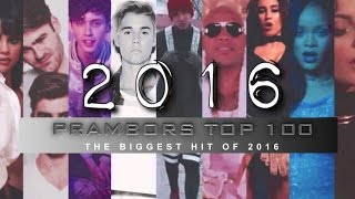 Prambors Top 100 The Best Hit Song of 2016 - Year End Countdown