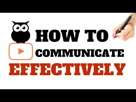 HOW TO COMMUNICATE EFFECTIVELY? | TRUE COMMUNICATION SKILLS