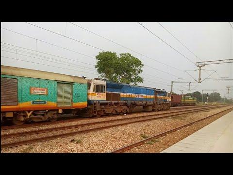 22434 ANVT - Ghazipur City Suhaildev Express via powered by OFFLINK ET WDP-4D With Humsafar EOG!