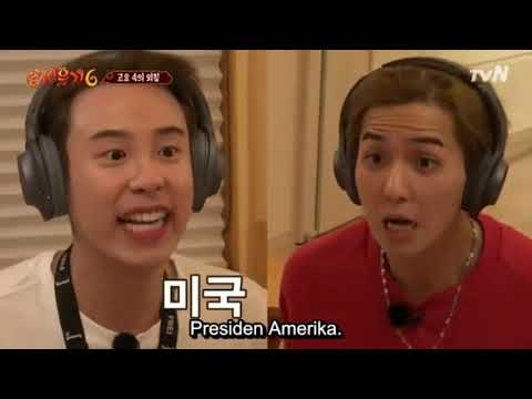 [SUB INDO] FUNNY AND CUTE MOMENT P.O AND MINO (NJTTW)