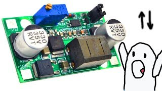 Тест FP5139 підвищує і знижує DC DC перетворювач