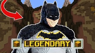 LEGENDARY BATMAN (Minecraft Build Battle)