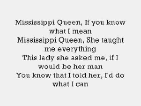 Mississippi Queen - Mountain (with lyrics)