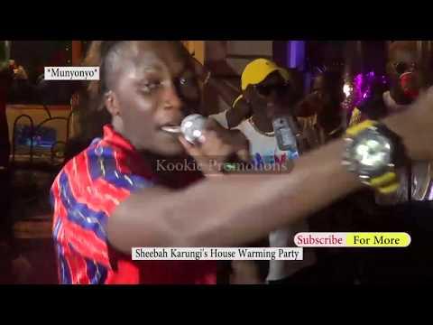 Kabako Akyeekoze Nga Sheebah Karungi ayingidde enyumbaye empya