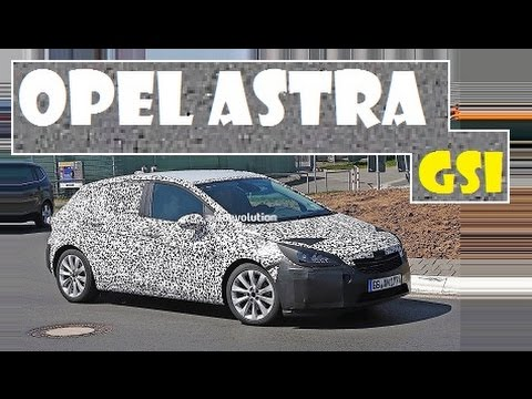 Opel Astra GSi, spied test, expect debuts in Frankfurt later this year