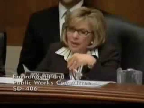 "Senator Barbara Boxer: ""Don't Call Me Ma'am"" - General Michael Walsh"