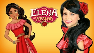 Disney Princess Elena of Avalor Costume and Makeup Tutorial