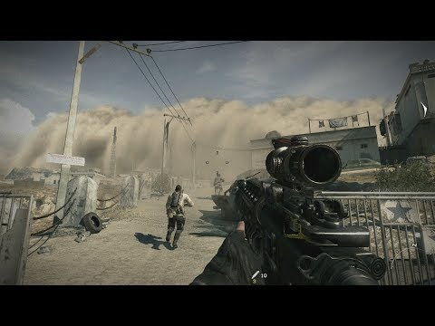 VERY EPIC SANDSTORM MISSION from Call of Duty Modern Warfare 3